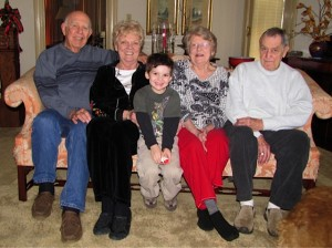 Finny & his grandparents