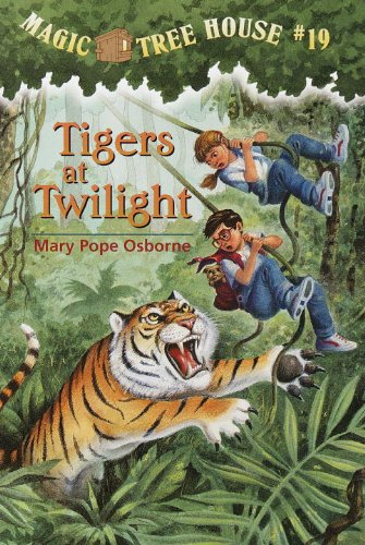 Magic Tree House 19 Tigers at Twilight